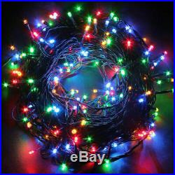Multi Fairy Lights Battery Operated 100 200 Led Timer String Christmas Xmas