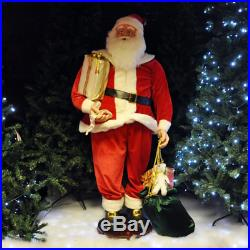 Musical Dancing Singing Santa Statue Ornament Xmas Decoration Christmas Figurine