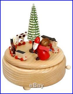 Musikdose natur Ruprechtzug 15,5 cm Spieluhr NEU Weihnachten Seiffen