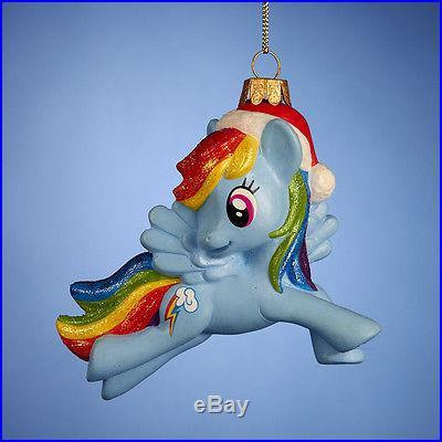 My Little Pony Rainbow Dash NWT Christmas Holiday Ornament 4.5