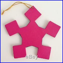 NEW 4 Christmas Tree Decoration Snowflake Star Ornaments