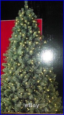 NEW 6.5′ McKinley Pine Prelit Clear Light Christmas Tree White Lights NIB