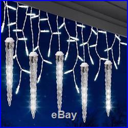 New 9 Boxes Gemmy Lightshow White Shooting Star 5 Light