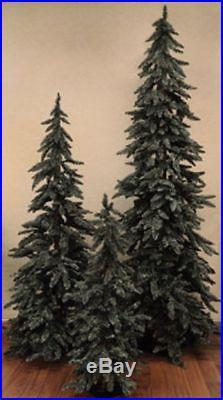 NEW Beautiful Grey-Green Downswept Alpine Christmas Tree 3'4'5′ Rustic Holiday