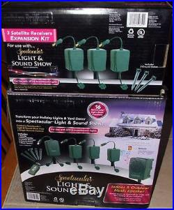 NEW Holiday Brilliant Spectacular Light & Sound Show + EXPANSION SET