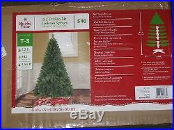 NEW IN BOX Non-Lit 6.5' JACKSON CHRISTMAS TREE STAND LIGHT DECOR HOLIDAY