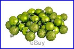 NEW Lime Xmas Christmas Tree Baubles Ornament Party Balls 32pcs Decorations