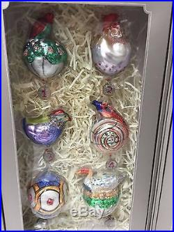 NEW Pottery Barn 12 Days of Christmas Ornaments 2016 Christmas