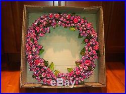 NEW Pottery Barn Sugar Wreath Holiday RAREGreat Gift