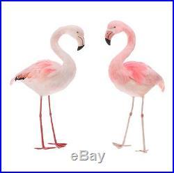 NEW! RAZ ImportsLg 24.5 Standing FlamingoSet of 2Easter/Summer/Beach/Cottage