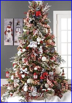 NEW Raz Woodland Dreams 51 piece Christmas Tree Decoration Set