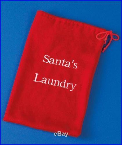 NEW Santa Clause Laundry Garland- Christmas Holiday Decoration Mantel/ Railing