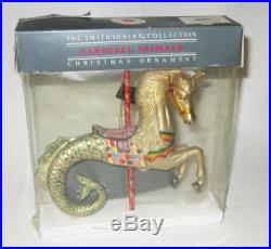 NEW The Smithsonian Collection Kurt S Adler Carousel Animals Ornament SEAHORSE