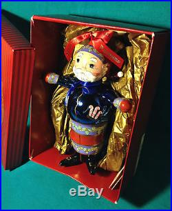 NEW WATERFORD Christmas Glass RARE LIMITED EDITION Majestic SANTA Ornament w BOX