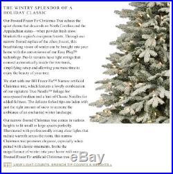 NIB Balsam Hill 7.5ft Frosted Fir Artificial Christmas Tree