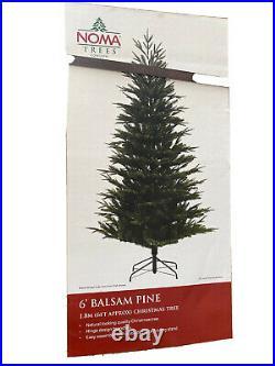 NOMA Luxury Artificial Christmas Tree 6ft Realistic Balsam Pine RRP £162.99 BNIB