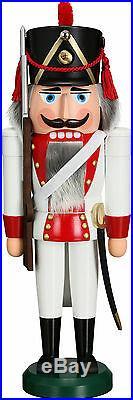 NUßKNACKER Grenadier NEU Erzgebirge Seiffen Volkskunst Original Weihnachten 38cm