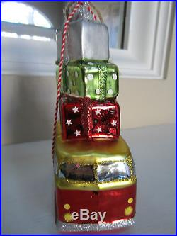 NWT Pottery Barn Ornament Van Christmas