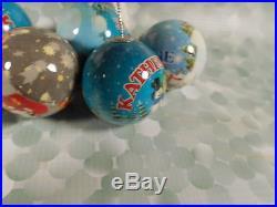 Name People Ball Ornaments Katherine 1.75 Christmas Tree Decor Set of 5 New