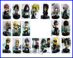 Naruto Ornaments Set of 21 Holiday Christmas Tree Ornament Figures, New