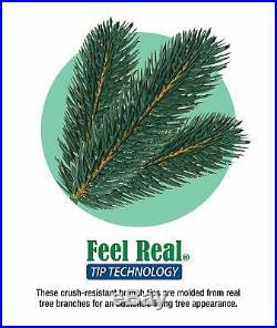 National Tree 7.5 Foot Christmas Tree Feel Real Downswept Douglas Fir Tree