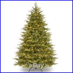National Tree Co. 7.5′ Pre-Lit Feel Real Nordic Spruce Christmas Tree