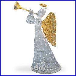 National Tree Co. Crystal Angel Christmas Decoration