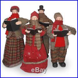 National Tree Co. Plush Décor Choir Group Christmas Decoration