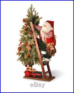 National Tree Company 42 Tree with Climbing Santa