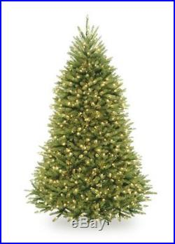 National Tree Company 6-1/2-Feet Dunhill Fir Tree with 650 Clear Lights