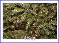 National Tree Dunhill Fir Hinged Tree with 750 Clear Lights, 7-1/2-Feet, New, Fr