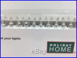 New 100 Clear Mini Lights Indoor/outdoor Christmas Wedding Patio Party Holiday H