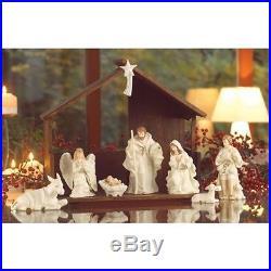 New Belleek Belleek Holiday Collection Nativity Set
