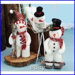 New Burton & Burton Snowman Figure Foam, 3 Assorted