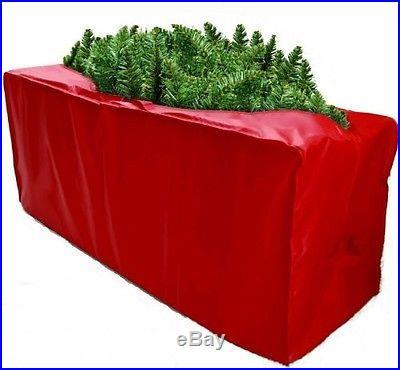 New Christmas Tree Storage Bag Cover Red 48X15X20 Xmas Holiday Free Shipping