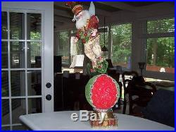 New Frontgate Mark Roberts Drummer Fairy Stocking Holder Limited Edition 194/500