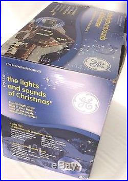 New GE Pro-Line Lights and Sounds of Christmas Made by Mr. Christmas