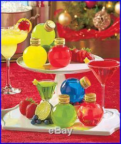 New Home Christmas Tree Ornament Set Margarita Martini Gift Decor Holiday Party