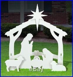 New Outdoor Nativity Scene, Baby Jesus Nativity Scene Yard Display