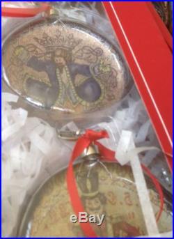 New! Pottery Barn 12 Days of Christmas Holiday Ornament Set