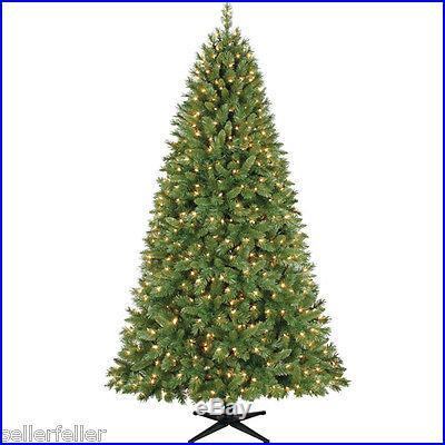New Pre-Lit 7.5′ Kennedy Fir Artificial Christmas Tree, Green, Clear Lights