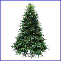 New Santa's Best 7.5′ Splendor Spruce EZ Power Pre-lit Christmas Tree