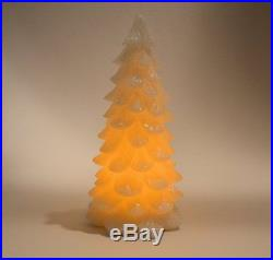 New Set Of 3 Inglow Flameless Led Christmas Tree Candles