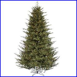 New Vickerman 6.5′ Itasca Frasier Artificial Christmas Tree 600 Clear lights