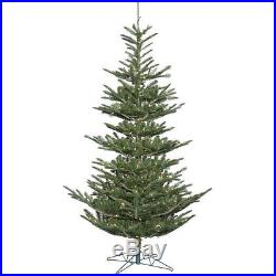 New Vickerman 7.5′ Alberta Spruce Pre-Lit Christmas Tree Clear Lights