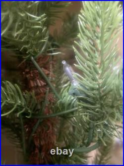 New in Box Balsam Hill 4′ Alpine Tree in Basket Prelit with 75 Warm White LEDs