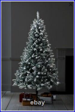 Next snowy Vermont 6ft lit Christmas tree BRAND NEW SEALED BOX 167-209-014