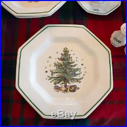 Nikko Christmastime Holiday Dishes, Service for 12, Christmas dishes accessories