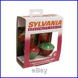 Noma/Inliten-Import V10002-88 Bubble Light Replacement Bulb, C7, 2-Pk
