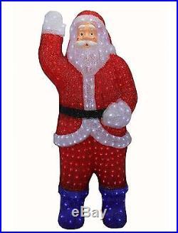 Northlight 3′ Lighted Commercial Grade Acrylic Santa Claus Christmas Display